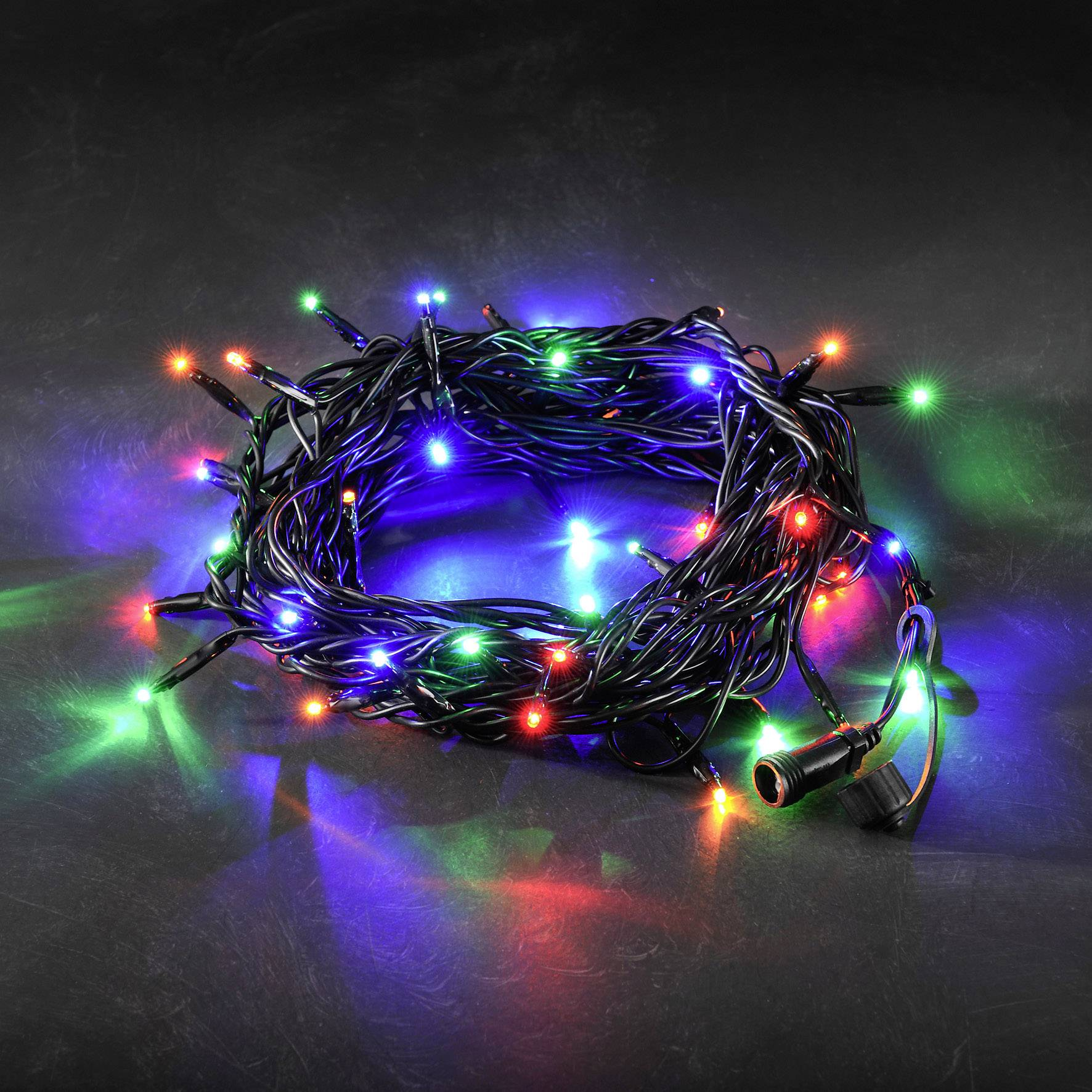 LED rozšíření systému světelných řetězů 31 V světelný řetez barevná Konstsmide