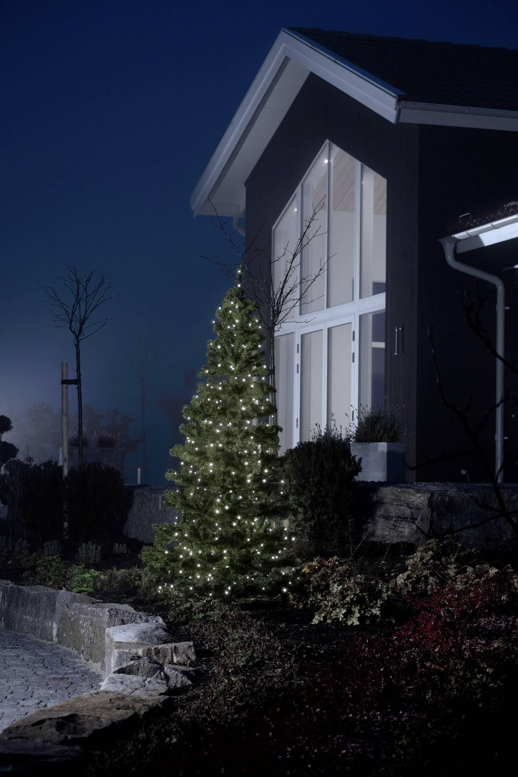 LED světelný řetěz 24 V studená bílá Konstsmide