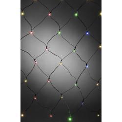 Venkovní světelná síť Konstsmide 3723-500 40 x LED, provoz na baterie, barevná