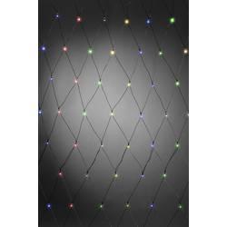 Venkovní světelná síť Konstsmide 3726-500 240 x LED, provoz na baterie, barevná