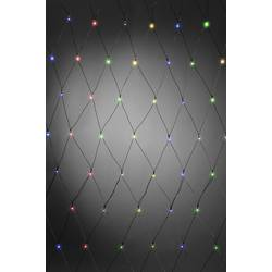 Vonkajšie svetelná sieť Konstsmide 3726-500 240 x LED , prevádzka na batérie, farebná