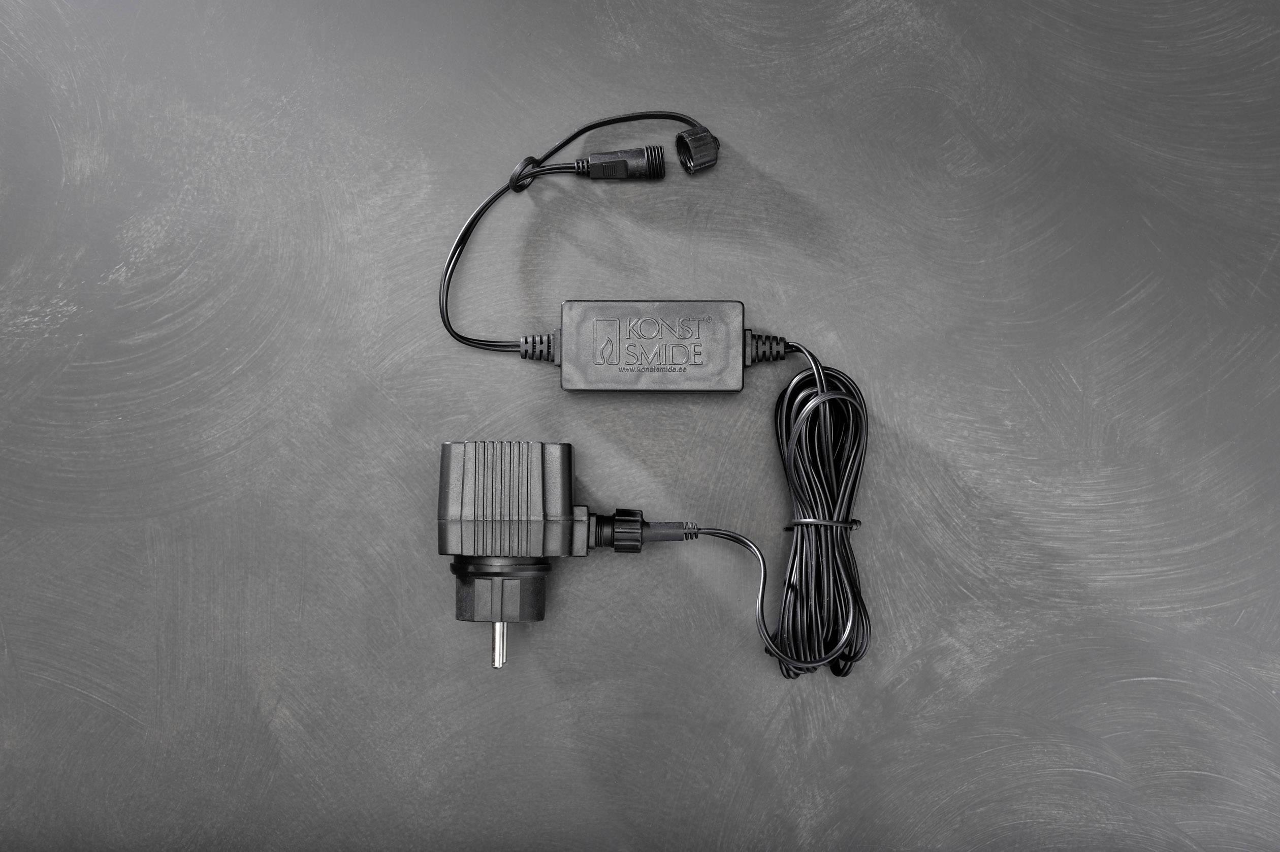 LED příslušenství k systému světelných řetězů 31 V připojovací kabel Konstsmide