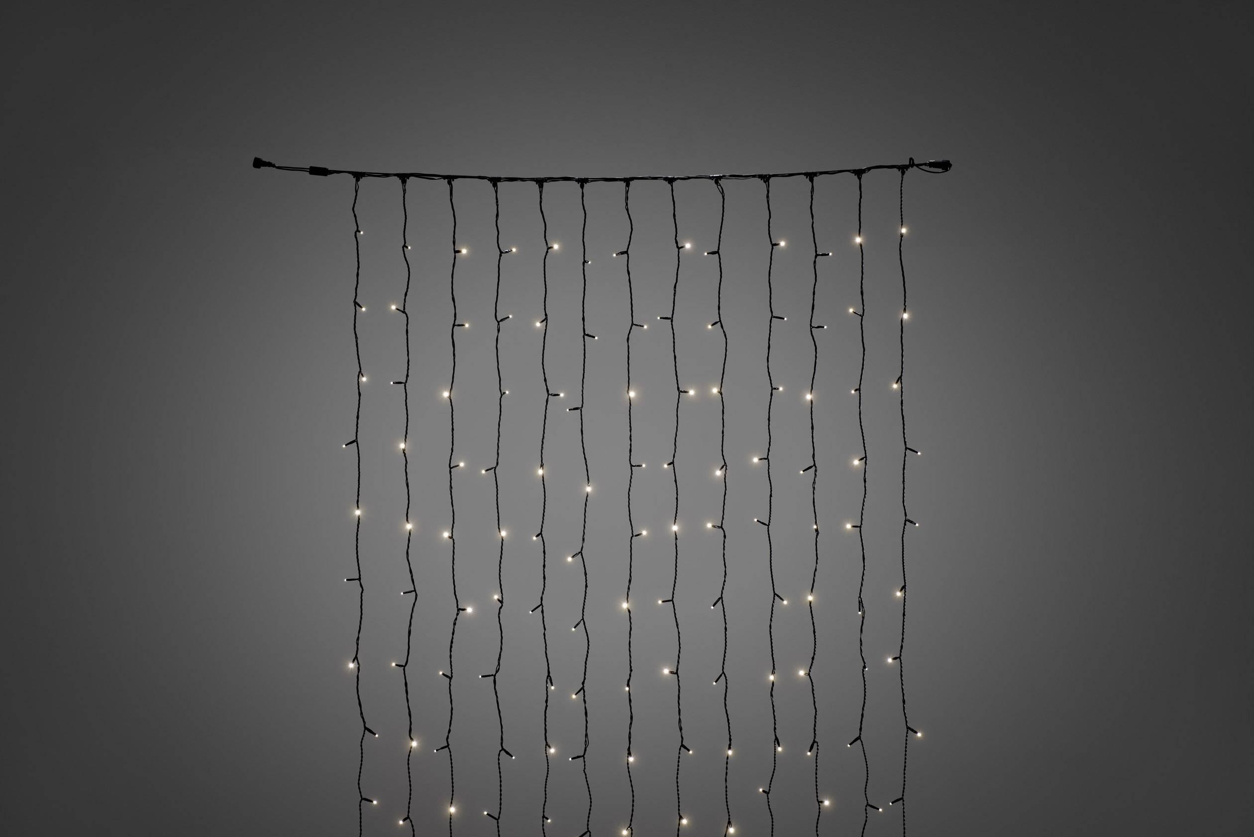 LED rozšíření systému světelného závěsu 31 V světelený závěs teplá bílá Konstsmide