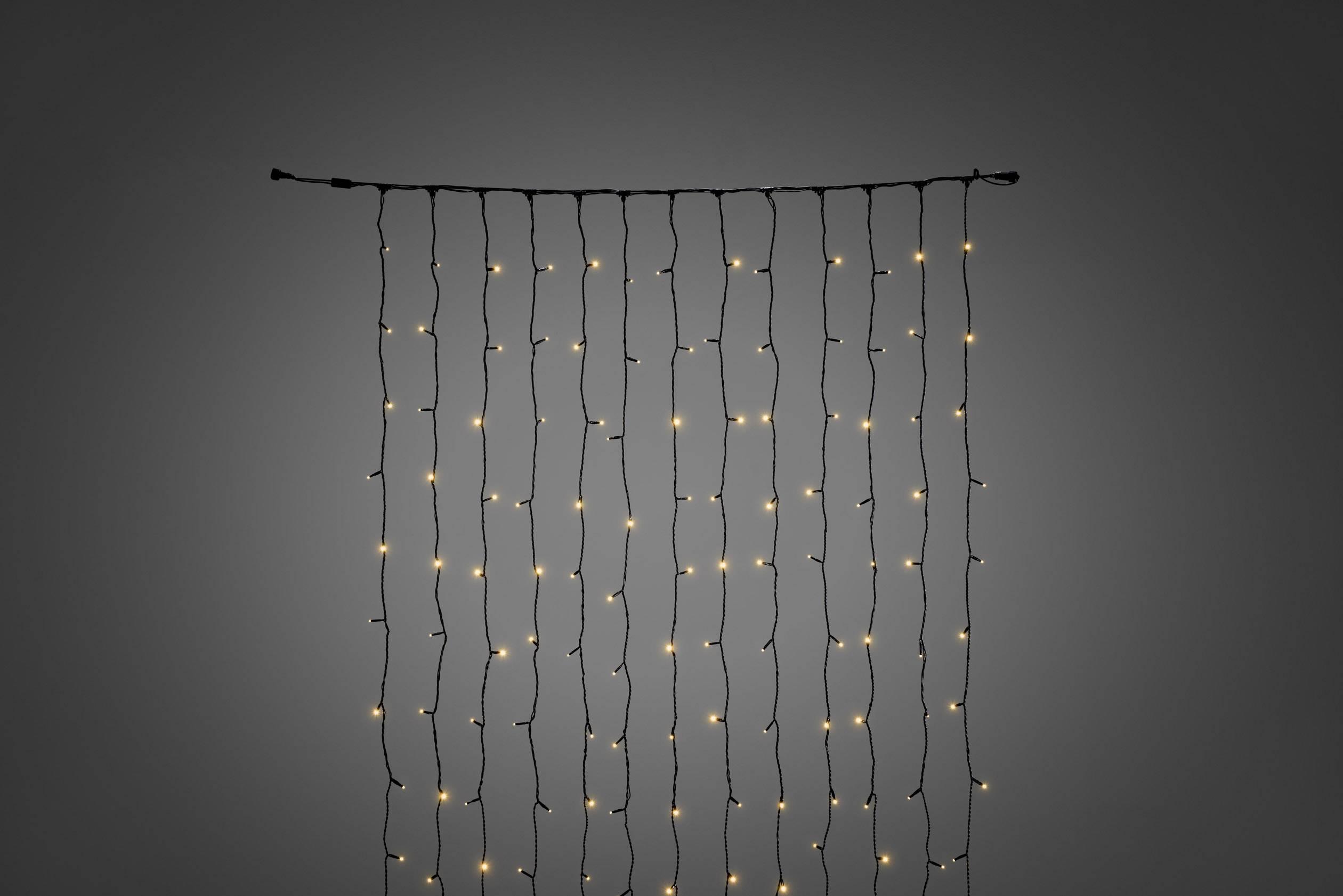 LED rozšíření systému světelného závěsu 31 V světelený závěs jantarová Konstsmide