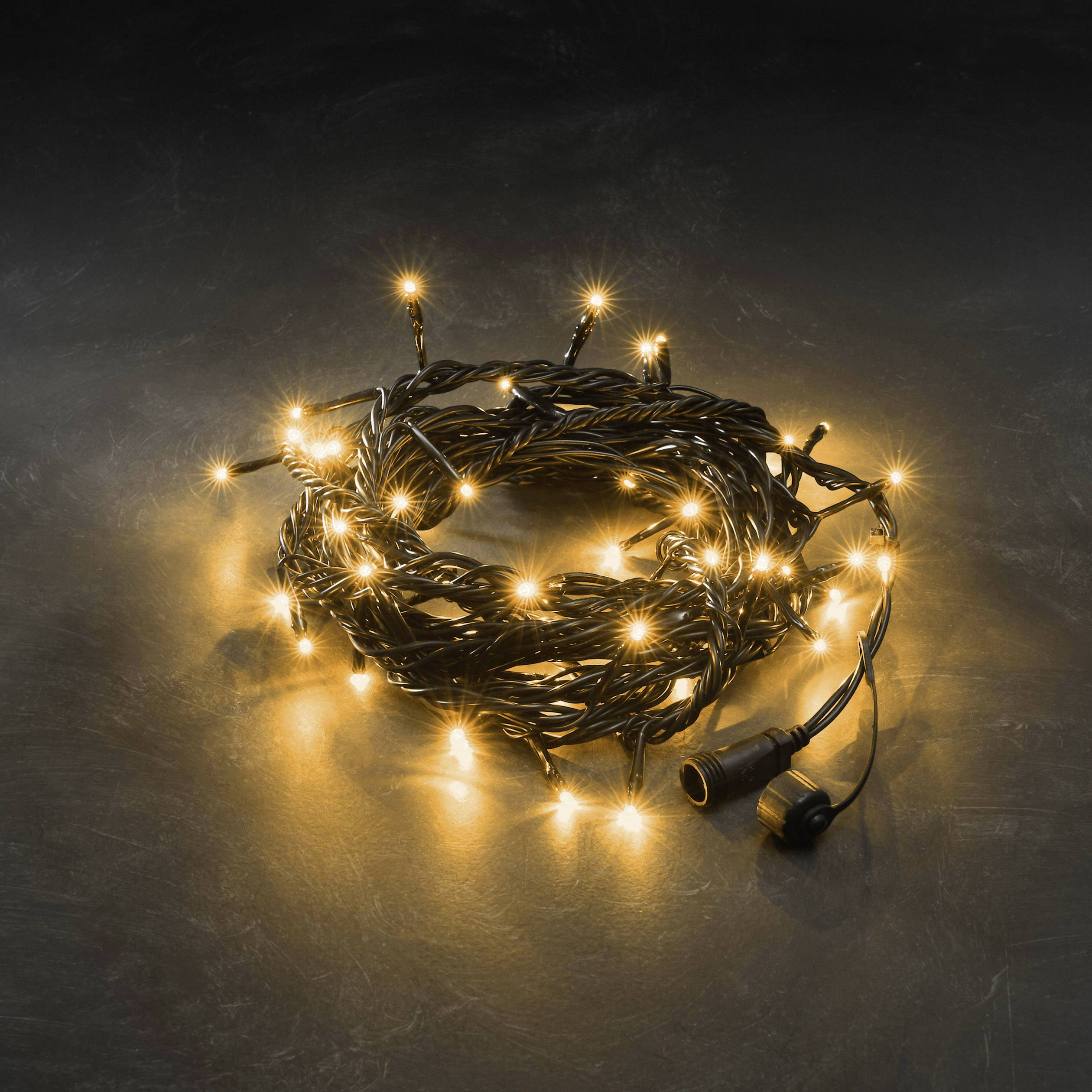 LED rozšíření systému světelných řetězů 31 V světelný řetez jantarová Konstsmide