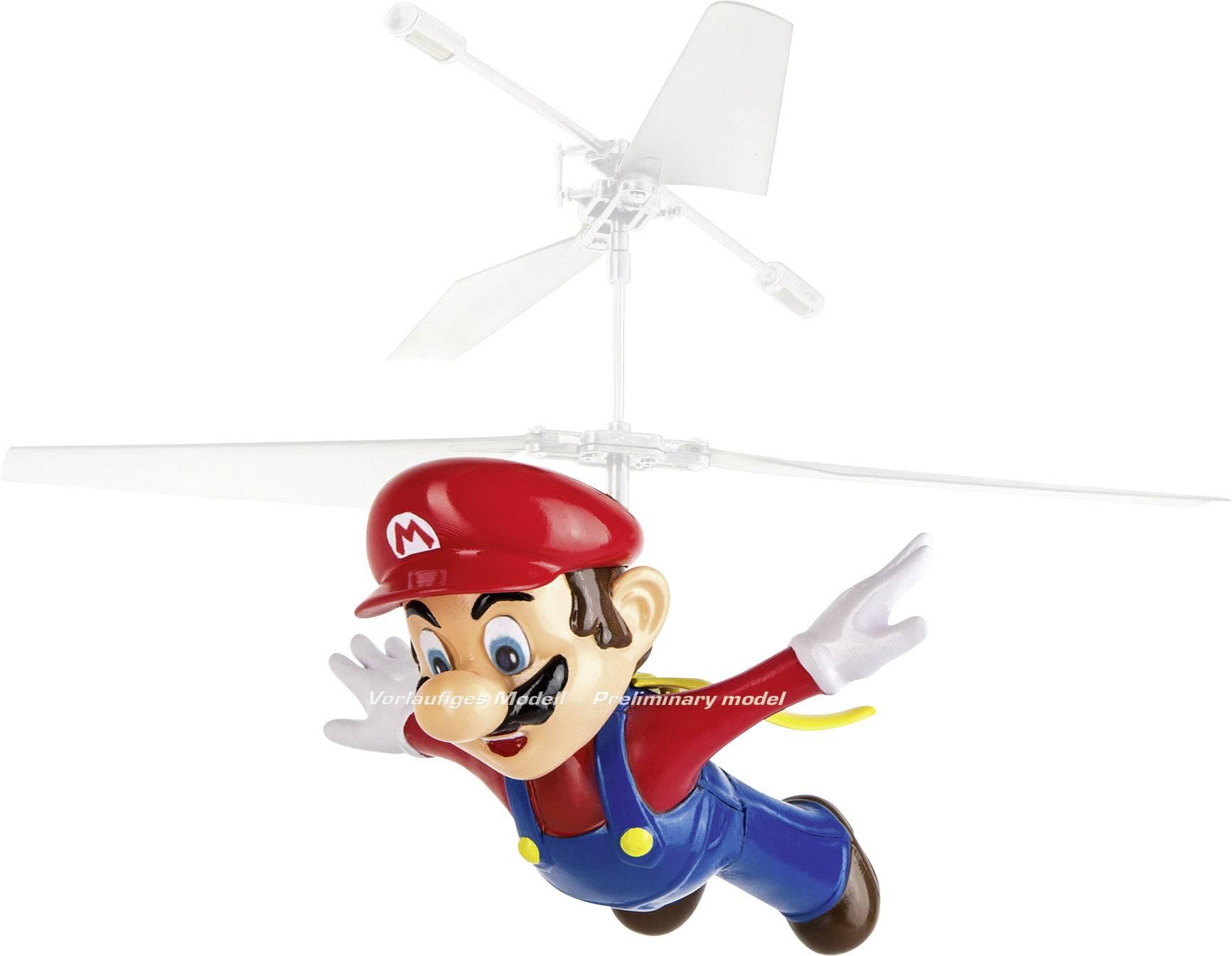 RC model vrtulníku vrtulník s dvojitým rotorem Carrera RC Super Mario - Flying Cape Mario, RtF