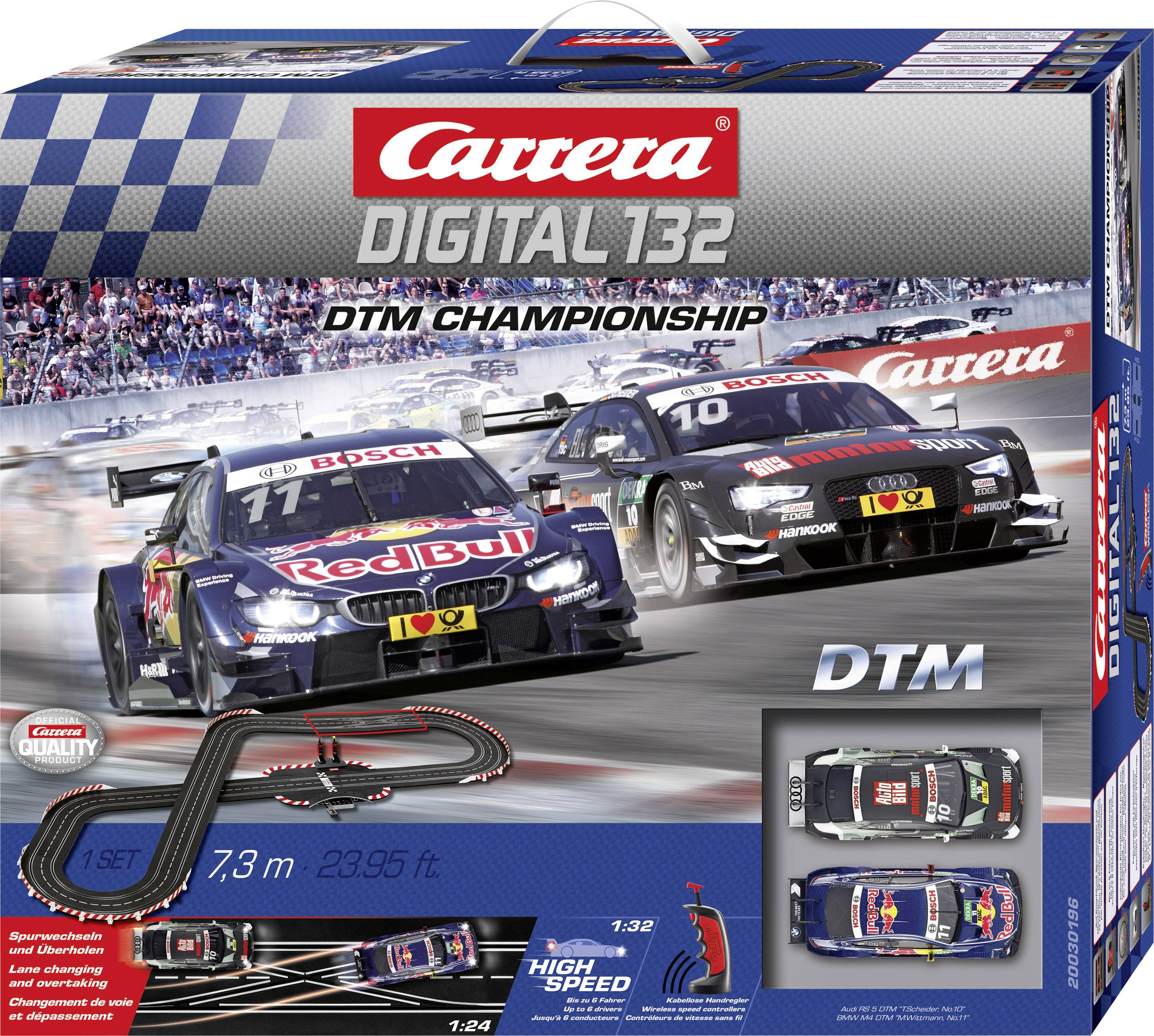 Autodráha, štartovacia sada Carrera DTM Championship 20030196, druh autodráhy DIGITAL 132