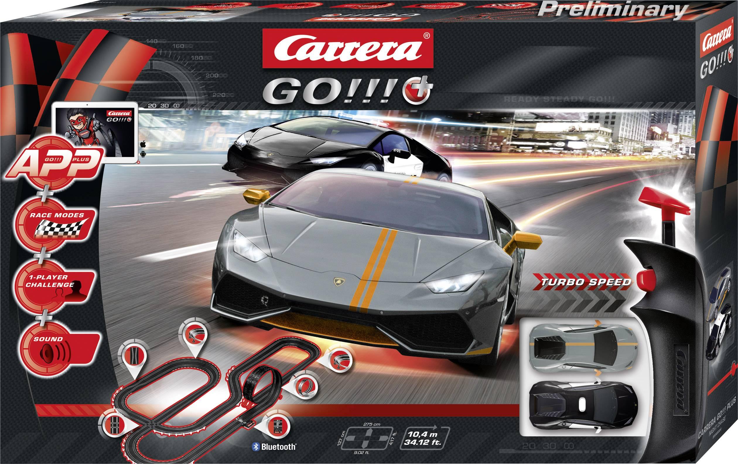 Autodráha, štartovacia sada Carrera Night Chase 20066004, druh autodráhy GO!!!