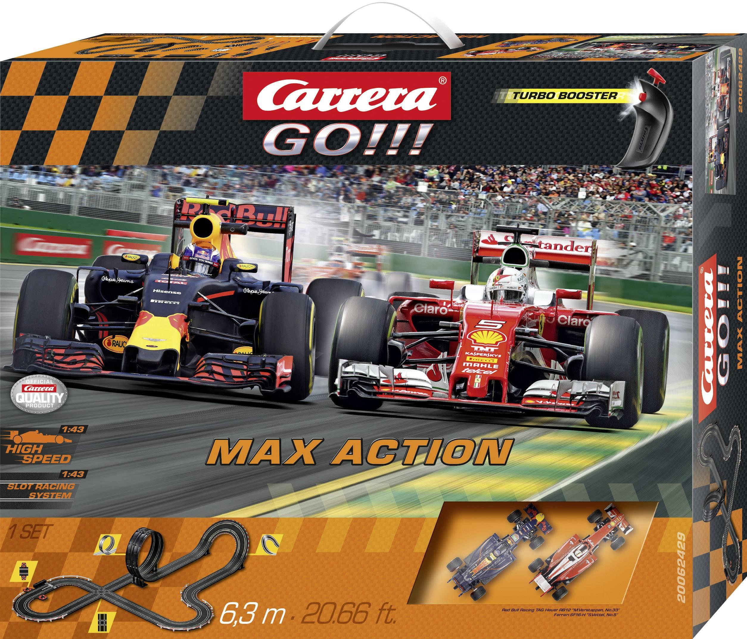 Autodráha, štartovacia sada Carrera Max Action 20062429, druh autodráhy GO!!!