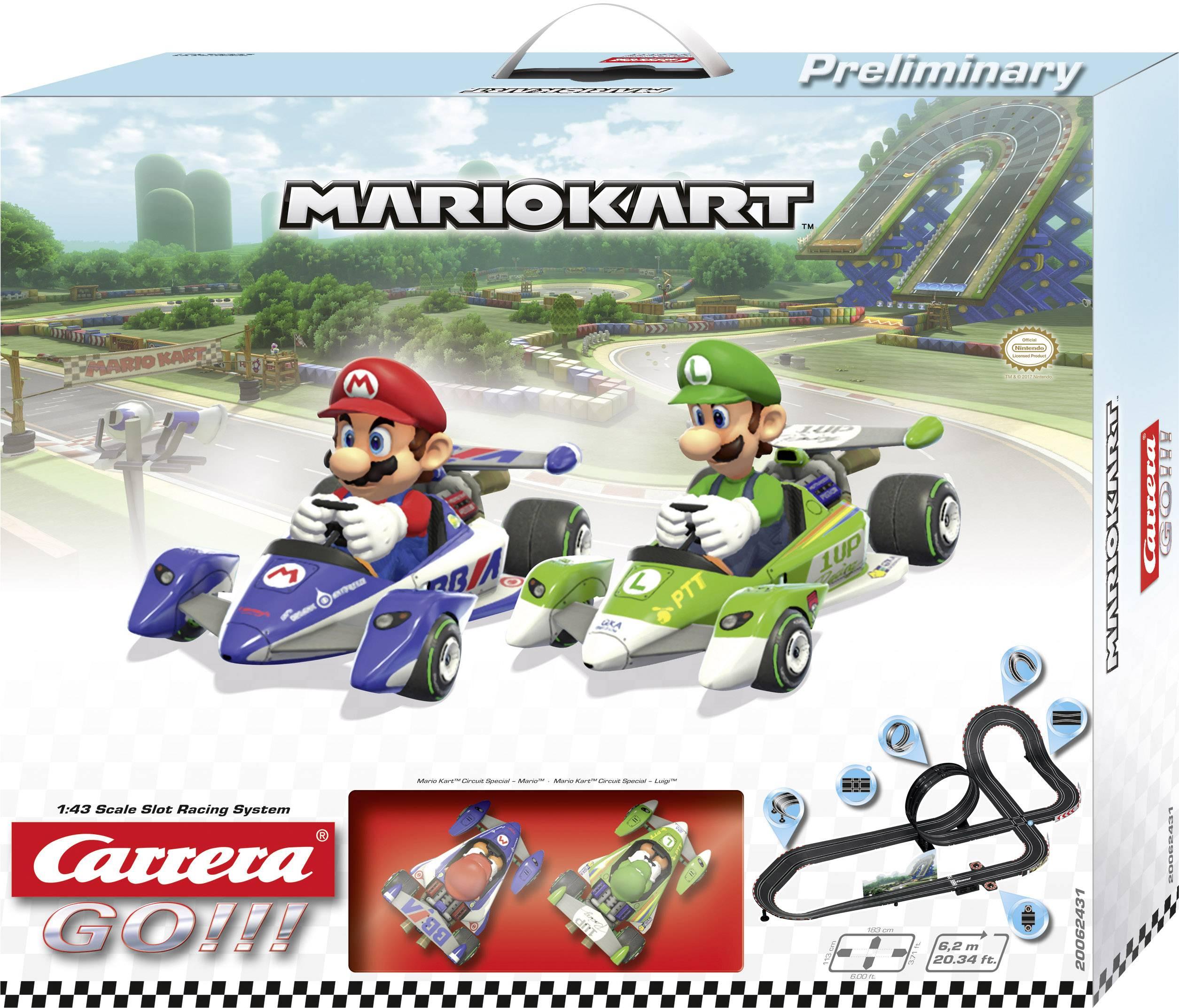 Autodráha, štartovacia sada Carrera Mario Kart™ 20062431, druh autodráhy GO!!!