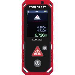 Laserový měřič vzdálenosti TOOLCRAFT LDM X100 TO-4800057, max. rozsah 100 m
