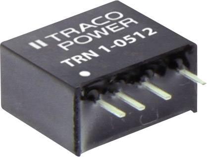 DC/DC měnič napětí do DPS TracoPower TRN 1-0512, 9 V/DC, +12 V/DC, 90 mA, 1 W, Počet výstupů 1 x