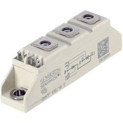 Tyristor Semikron 07898121, 1600 V, 106 A, Semipack 1