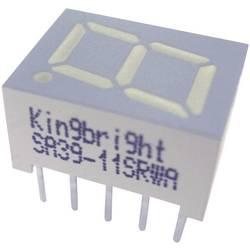 Displej 7segmentový Kingbright, SC39-11EWA, 10 mm, červená, SC39-11EWA