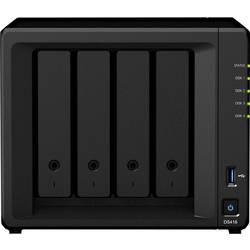 Skříň pro NAS server Synology DiskStation DS418, podpora videa 4K, přední USB 3.0 konektor