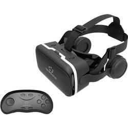 22166e0f5 Okuliare pre virtuálnu realitu + Bluetooth game pad pe smartfóny Renkforce  RF-VR2, čierna