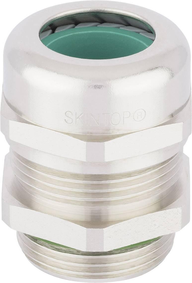 Kabelová průchodka LAPP SKINTOP® MS-HF-M BRUSH M40 9 mm, mosaz, 1 ks