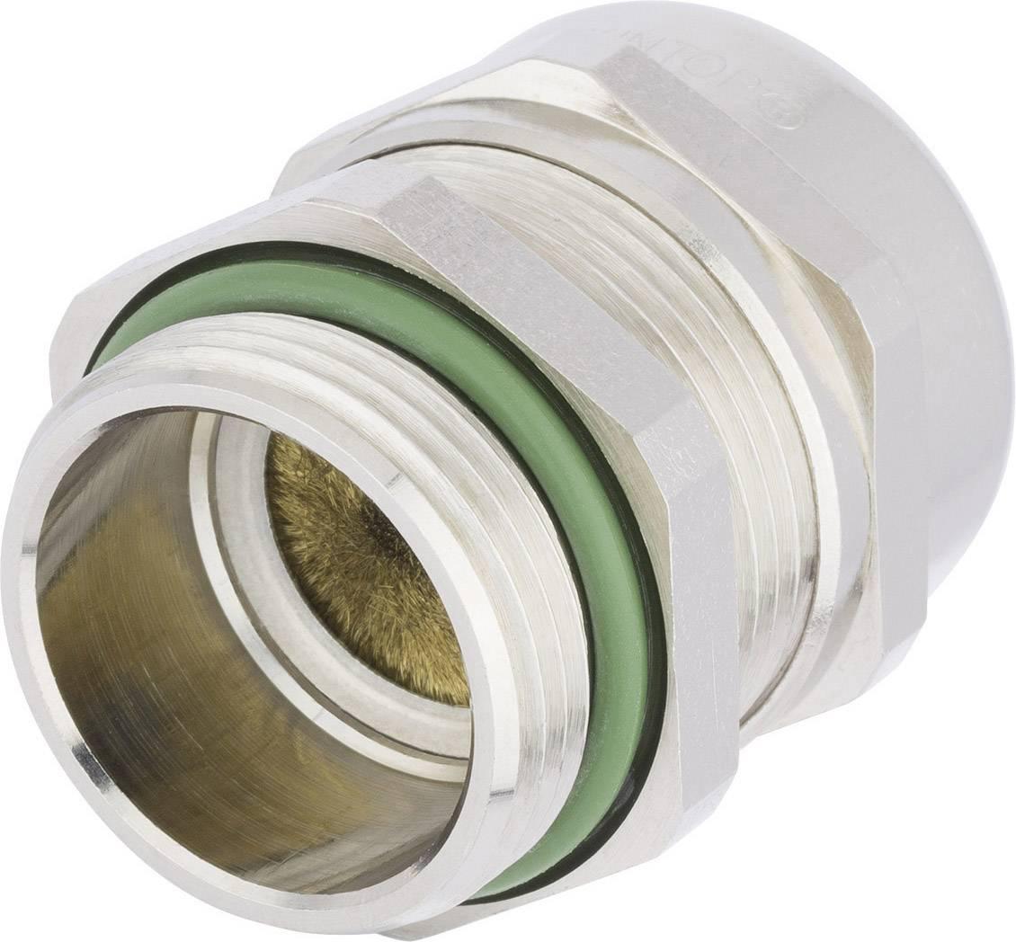 Kabelová průchodka LAPP SKINTOP® MS-HF-M BRUSH M32 9 mm, mosaz, 1 ks