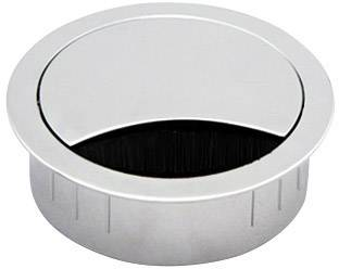 Kabelová průchodka kulatá Bachmann 930.301, zinkový tlakový odlitek, nerezová ocel, 1 ks