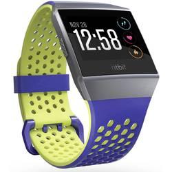FitBit Ionic Sport Blue Yellow Small velikost=S kobaltová modrá , citrusová
