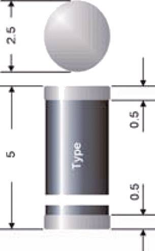 Schottkyho usmerňovacia dióda Semikron SMS140, 1 A, 40 V