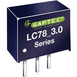 DC/DC měnič napětí do DPS Gaptec 10020074, 12 V/DC, 5 V/DC, 1000 mA, 15 W, Počet výstupů 1 x