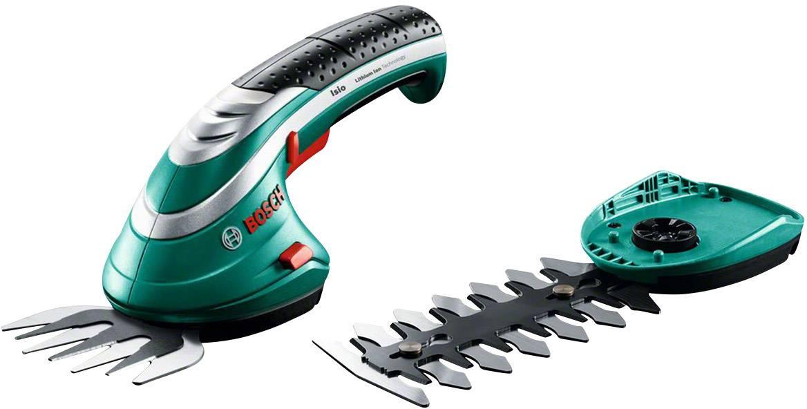 Akumulátorová nůžky na trávu, nůžky na keře + akumulátor Li-Ion akumulátor Bosch Home and Garden Isio Set