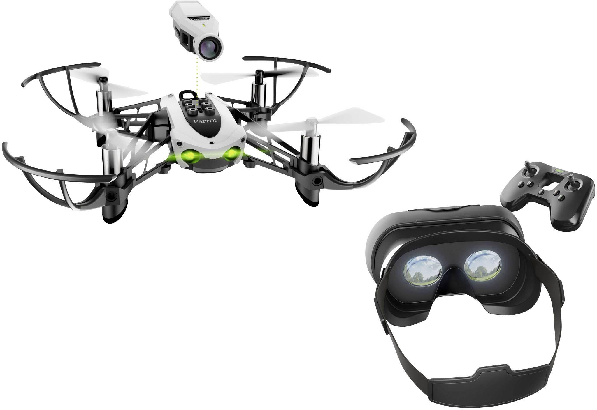 Dron Parrot Mambo FPV, RtF s HD kamerou a VR brýlemi