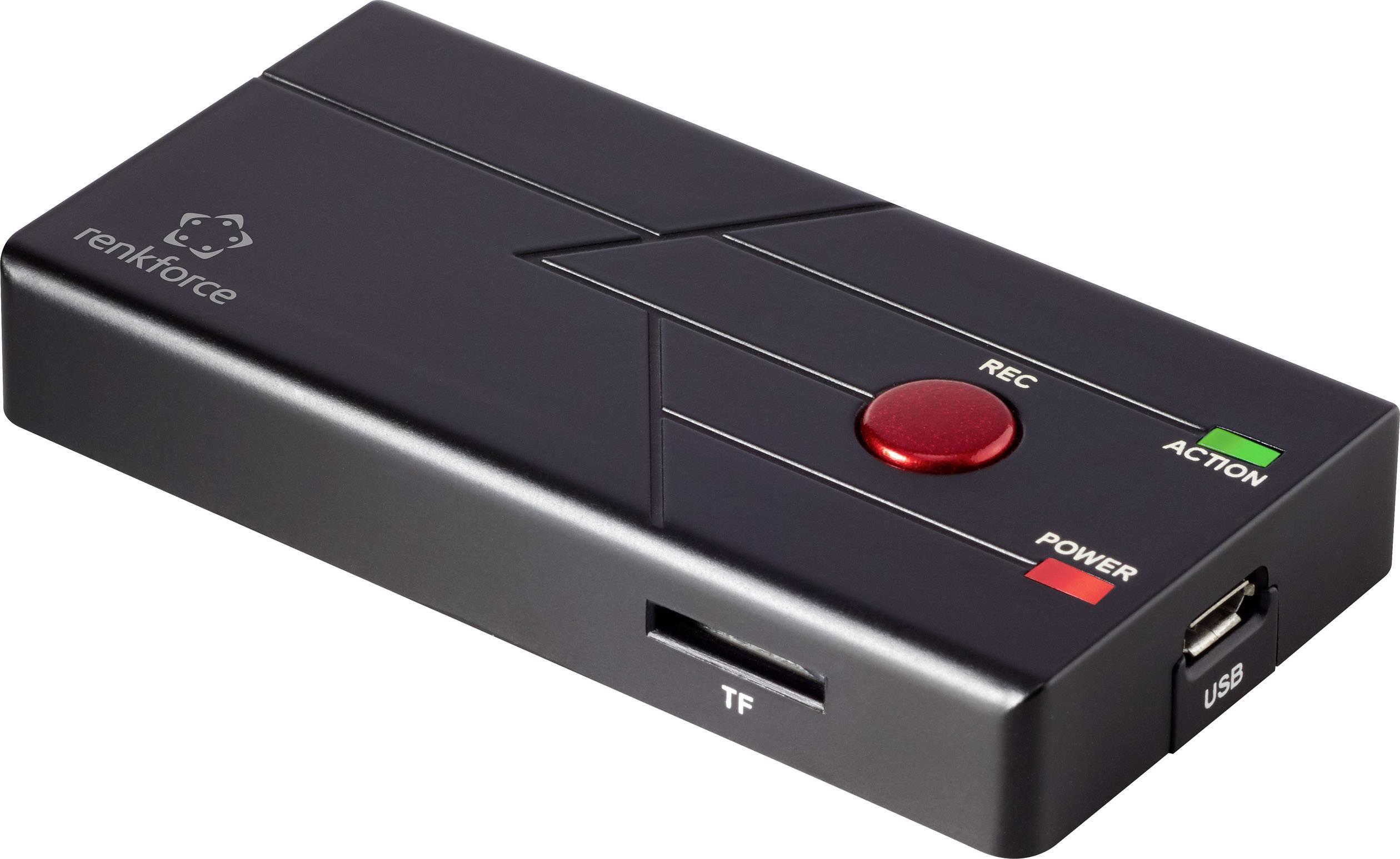 USB převodník videa z analogového do digitálního záznamu, Renkforce RF-GR2 RF-4814958