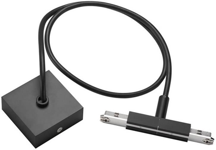 Střední napájení s kabelem a krytem SLV D-Track 172100 černá 1 ks