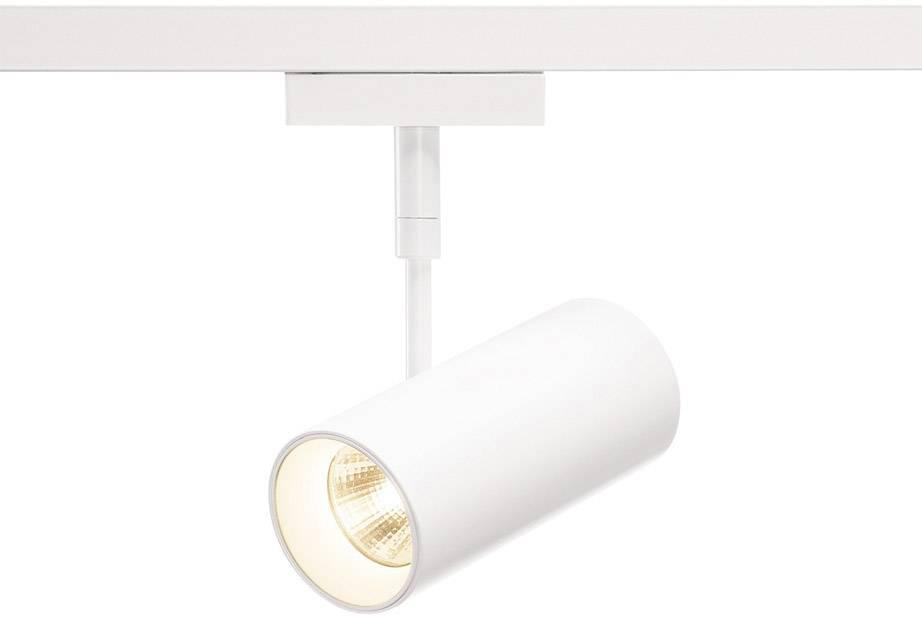 Pevně vestavěné LED svítidla do lištových systémů (230 V) SLV Revilo LED 140201 7.5 W, bílá