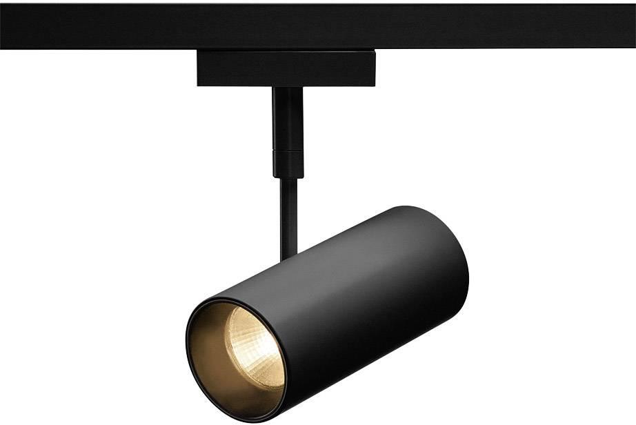 Pevně vestavěné LED svítidla do lištových systémů (230 V) SLV Revilo LED 140230 7.5 W, černá