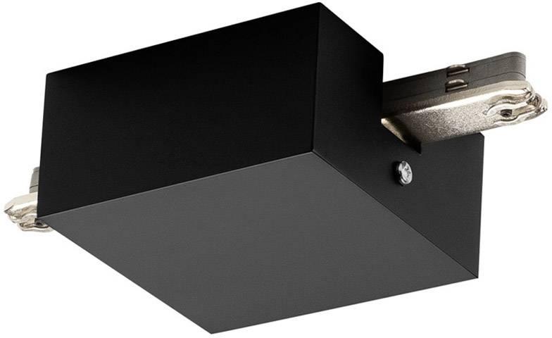 Střední napájení s krytem SLV D-Track 172070 černá 1 ks