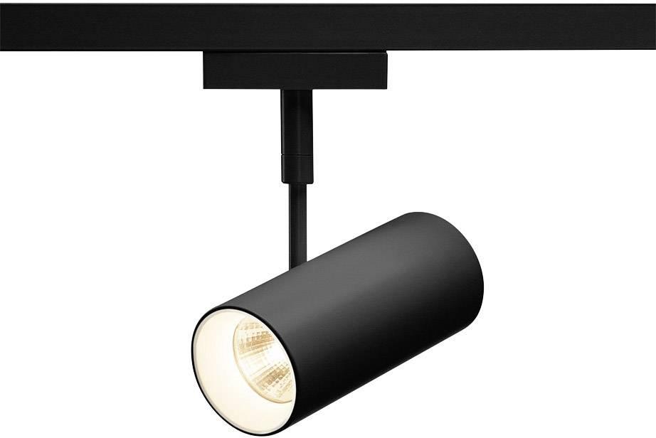 Pevně vestavěné LED svítidla do lištových systémů (230 V) SLV Revilo LED 140200 7.5 W, černá