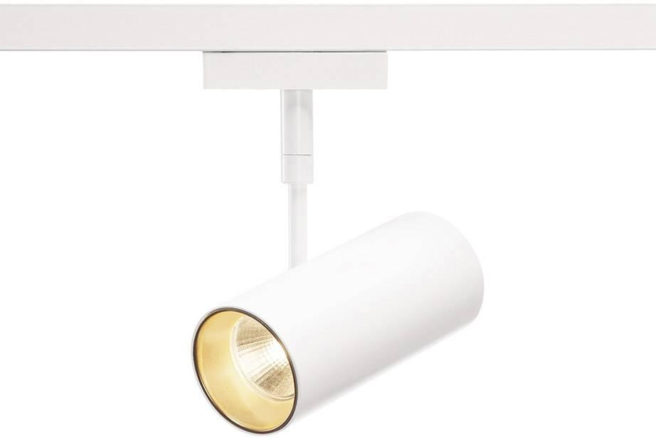 Pevně vestavěné LED svítidla do lištových systémů (230 V) SLV Revilo LED 140231 7.5 W, bílá