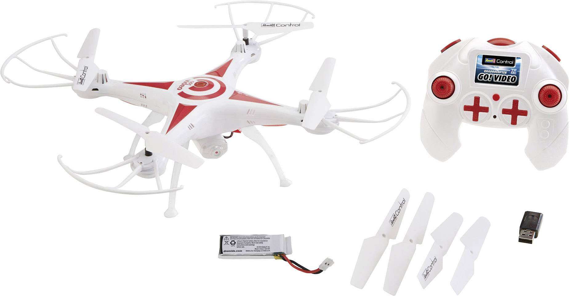 Dron Revell Control GO! Video, RtF