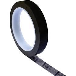 ESD lepicí páska TRU COMPONENTS TC-ESDT-BL1750-10S, (d x š) 50 m x 17 mm, 500 m, černá