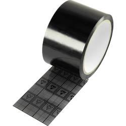 ESD lepicí páska TRU COMPONENTS TC-ESDT-BL6050-1S, (d x š) 50 m x 60 mm, 50 m, černá