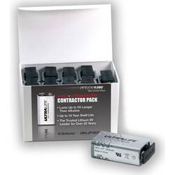 Baterie 9 V lithiová Ultralife U9VL-J-P 6LR61 1200 mAh 9 V 10 ks