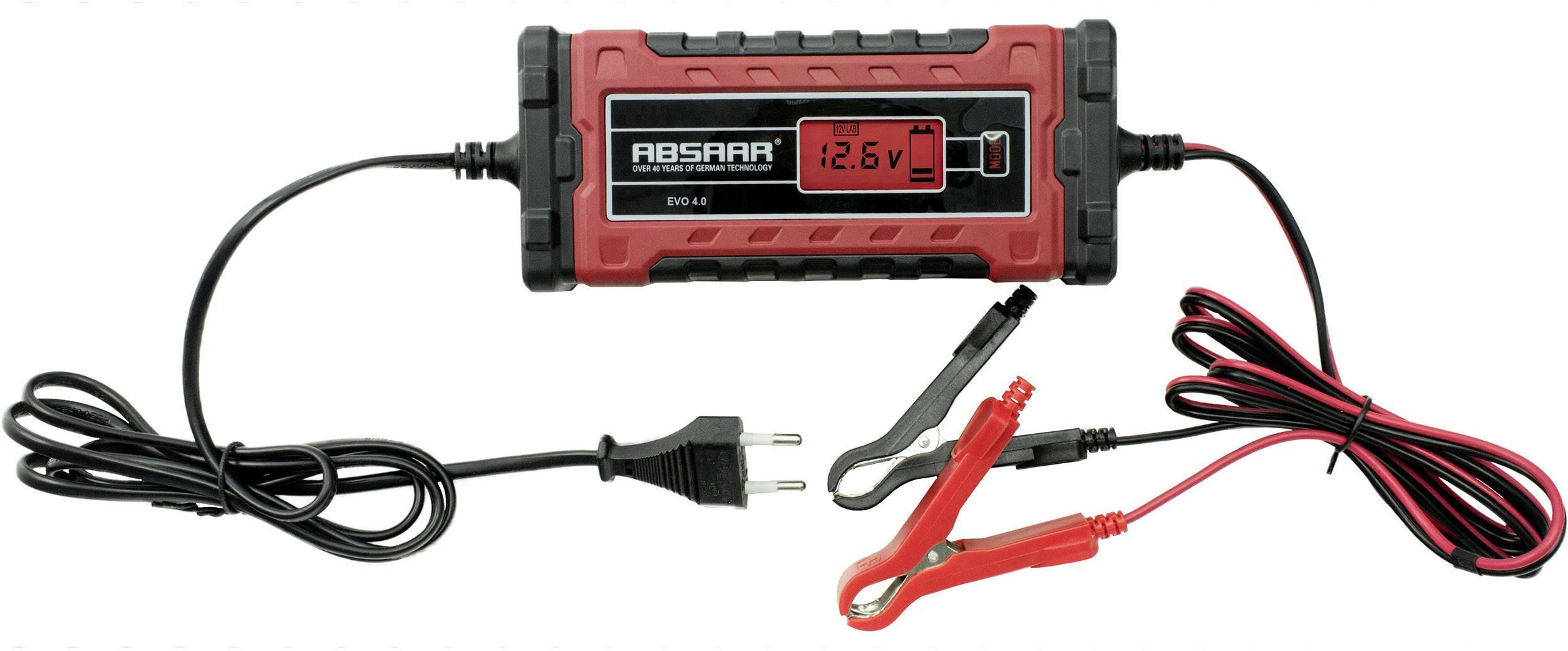 Nabíjačka autobatérie Absaar EVO 4.0 158001, 12 V, 6 V, 2 A, 4 A