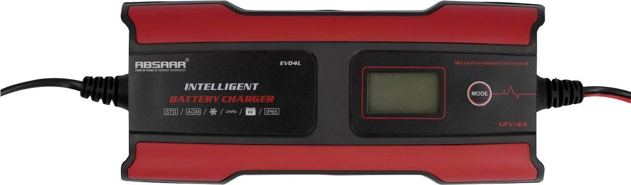 Nabíjačka autobatérie Absaar EVO 4.0 158004, 12 V, 6 V, 2 A, 4 A