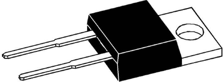 Schottkyho usmerňovacia dióda IXYS DSS16-01A, 16 A, 100 V