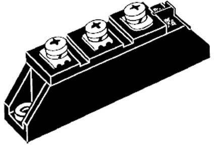 Diódové pole - usmerňovač IXYS MEK75-12DA, TO-240AA, 75 A