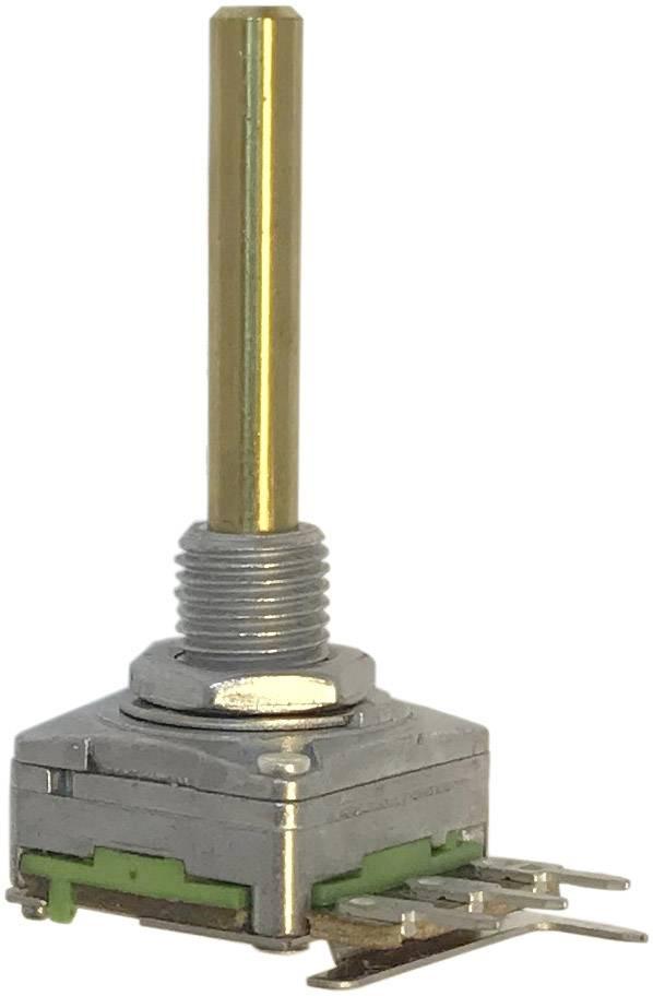 Otočný potenciometr 1cestný Mono Potentiometer Service 63250-01400-2006/B25K RD1601F-20B4-30R6-B25K-602, 0.2 W, 25 kOhm, 1 ks
