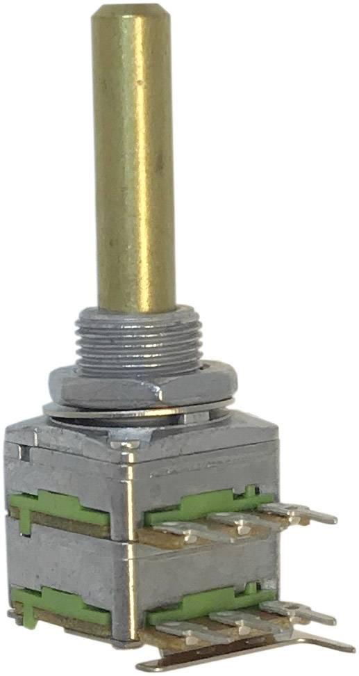 Otočný potenciometr 1cestný Stereo Potentiometer Service 63256-02600-4163/B2,5K RD1602F-20F4-30R-B2,5K-602, 0.2 W, 2.5 kOhm, 1 ks