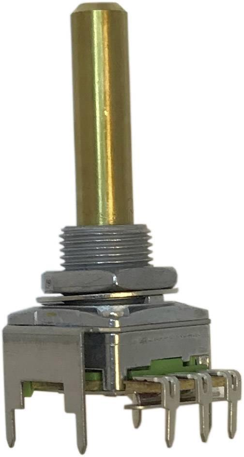 Otočný potenciometr 1cestný Mono Potentiometer Service 63250-21600-3165/B10K RD1601F-40F4-30R-B10K-601, 0.2 W, 10 kOhm, 1 ks