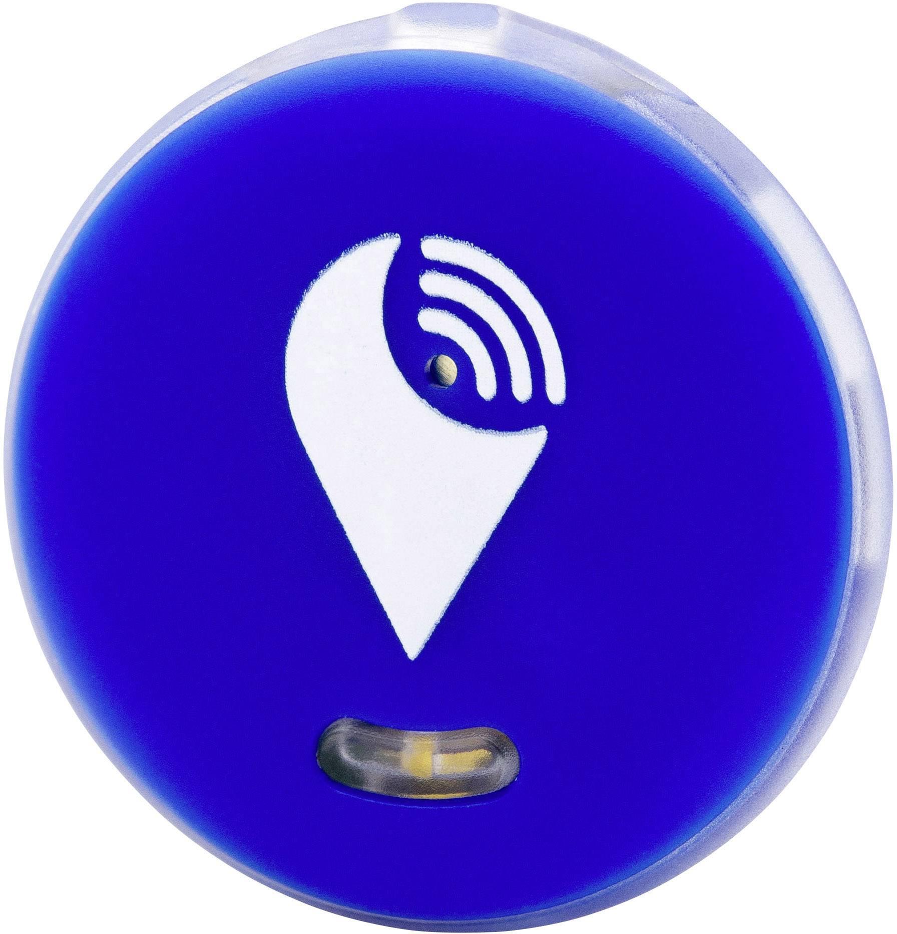 Bluetooth tracker - lokalizačný čip TrackR pixel TRA1001BL, modrá