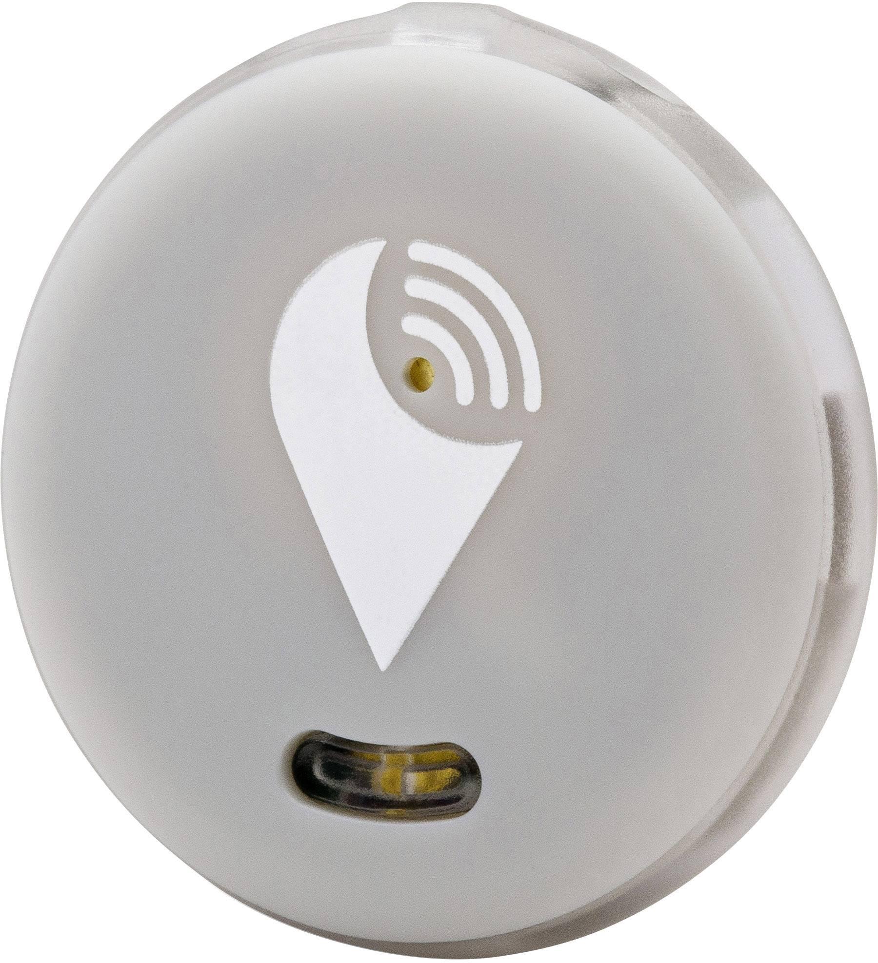Bluetooth tracker - lokalizačný čip TrackR pixel TRA1001GR, sivá