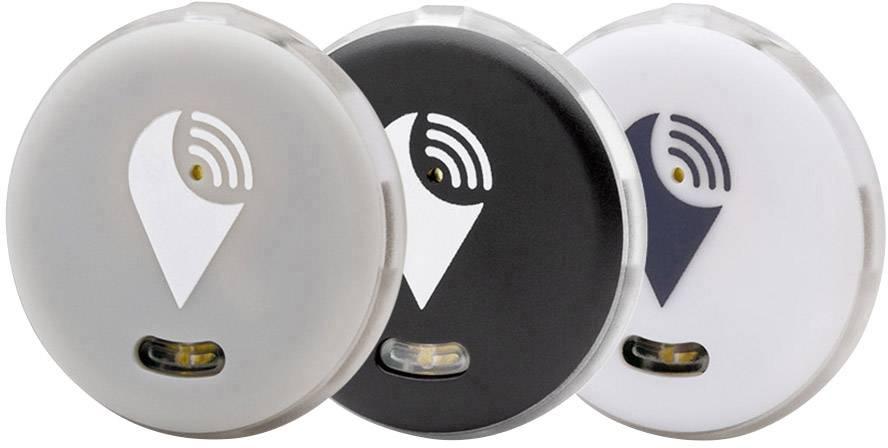 Bluetooth tracker - lokalizační čip TrackR pixel TRA1002ZZ, černá, bílá, šedá