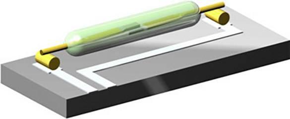 Jazýčkový kontakt PIC PMC-2021T2530, 1 spínací kontakt, 200 V/DC, 250 V/AC, 1.5 A, 50 W, 50 VA